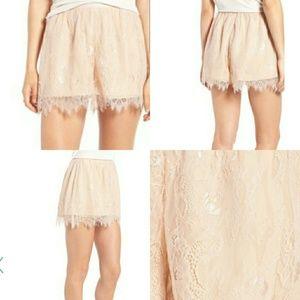 NWT Keepsake Lace Shorts Size Small